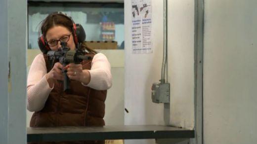 gun lady